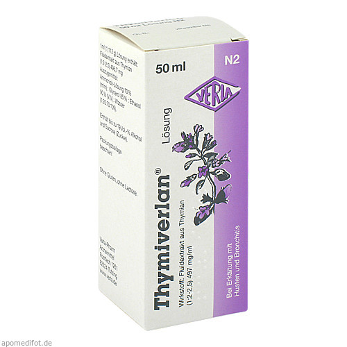 THYMIVERLAN Lösung, 50 ML, Verla-Pharm Arzneimittel GmbH & Co. KG