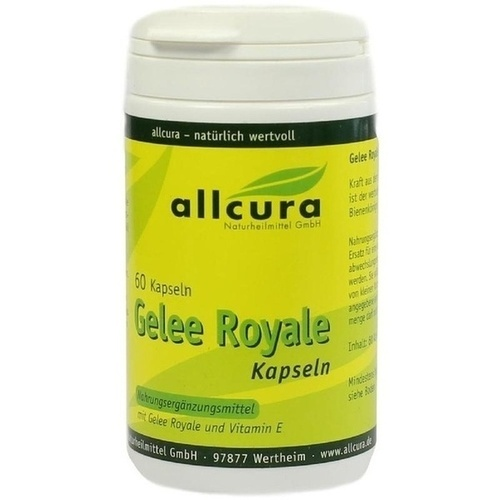 GELEE ROYALE, 60 ST, Allcura Naturheilmittel GmbH