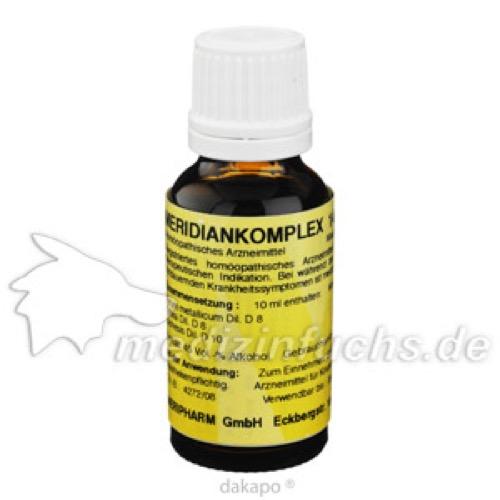 MERIDIANKOMPLEX 14, 20 ML, Meripharm GmbH Arzneimittelvertrieb