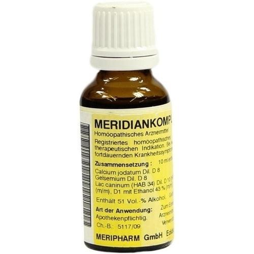 MERIDIANKOMPLEX 15, 20 ML, Meripharm GmbH Arzneimittelvertrieb