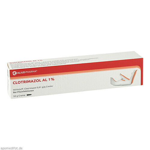 CLOTRIMAZOL AL 1%, 50 G, Aliud Pharma GmbH