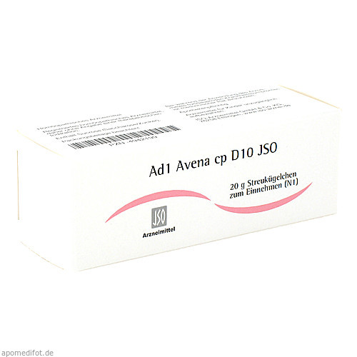 Ad1 Avena cp D10 JSO, 20 G, Iso-Arzneimittel GmbH & Co. KG