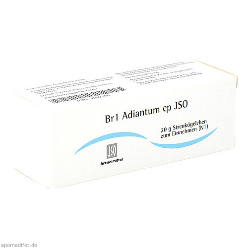 Br1 Adiantum cp JSO, 20 G, Iso-Arzneimittel GmbH & Co. KG