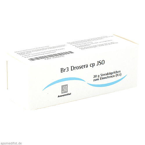 Br3 Drosera cp JSO, 20 G, Iso-Arzneimittel GmbH & Co. KG