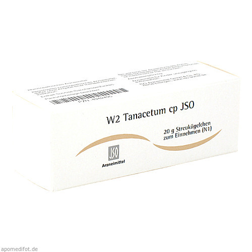 W2 Tanacetum cp JSO, 20 G, Iso-Arzneimittel GmbH & Co. KG