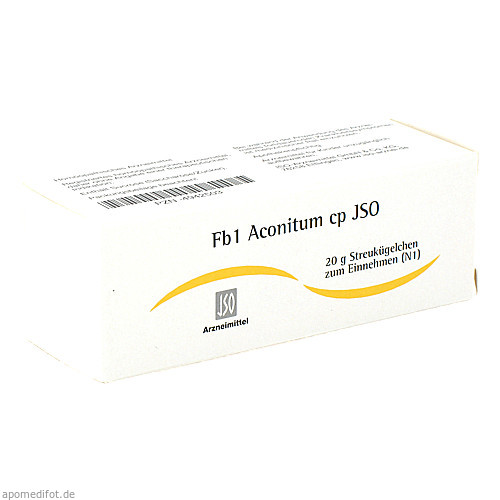 Fb1 Aconitum cp JSO, 20 G, Iso-Arzneimittel GmbH & Co. KG