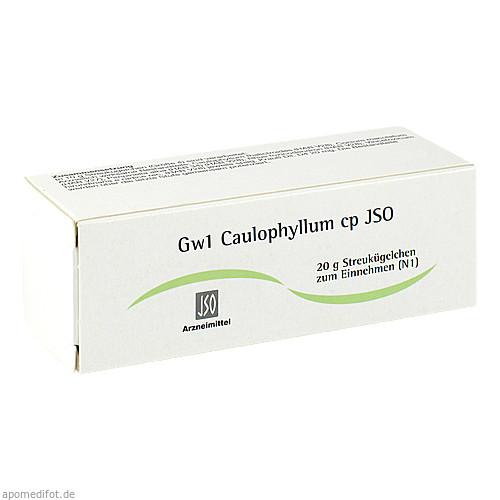 Gw1 Caulophyllum cp JSO, 20 G, Iso-Arzneimittel GmbH & Co. KG
