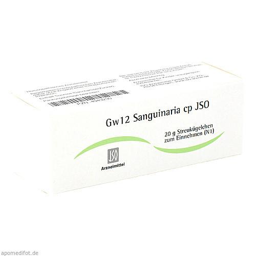 Gw12 Sanguinaria cp JSO, 20 G, Iso-Arzneimittel GmbH & Co. KG