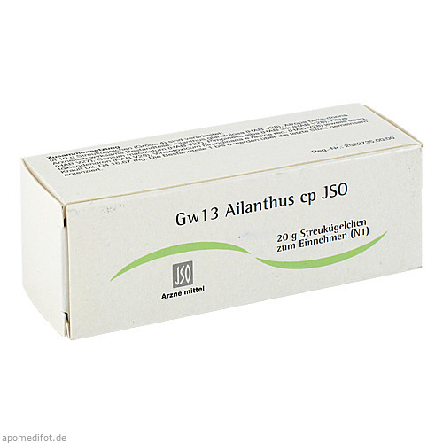 Gw13 Ailanthus cp JSO, 20 G, Iso-Arzneimittel GmbH & Co. KG