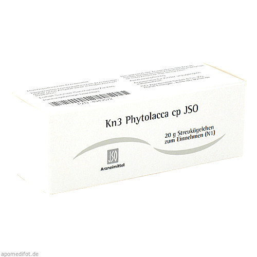 Kn3 Phytolacca cp JSO, 20 G, Iso-Arzneimittel GmbH & Co. KG