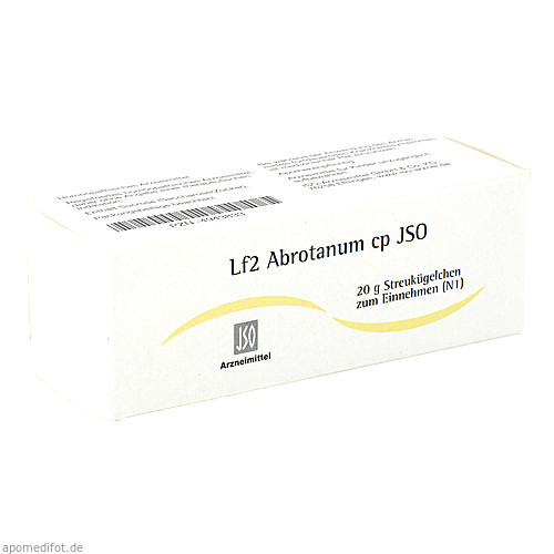 Lf2 Abrotanum cp JSO, 20 G, Iso-Arzneimittel GmbH & Co. KG