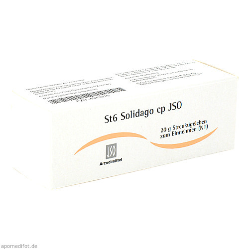 St6 Solidago cp JSO, 20 G, Iso-Arzneimittel GmbH & Co. KG
