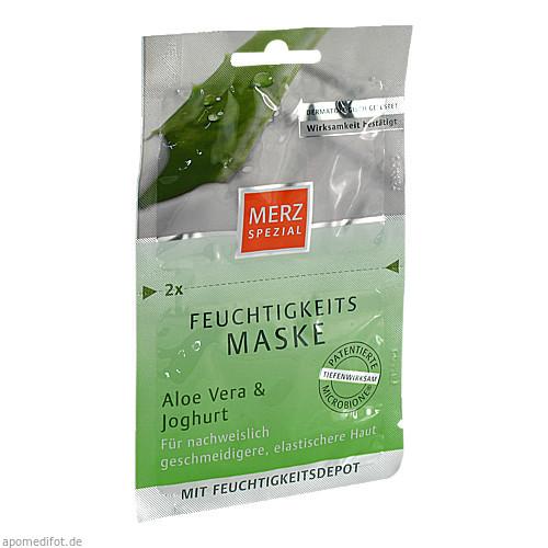 Merz Spezial Feuchtigkeitsmaske Aloe Vera&Joghurt, 2X7.5 ML, Merz Consumer Care GmbH