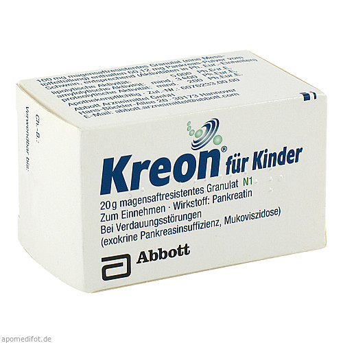 KREON FUER KINDER, 20 G, Mylan Healthcare GmbH