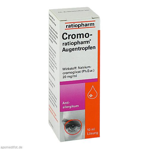 CROMO RATIOPHARM, 10 ML, ratiopharm GmbH