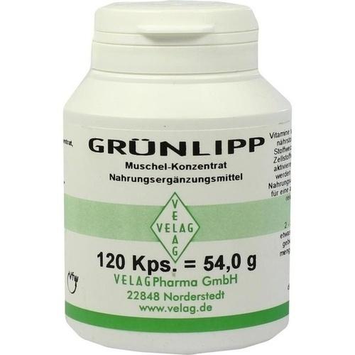 GRÜNLIPP Muschel-Konzentrat, 120 ST, Velag Pharma GmbH