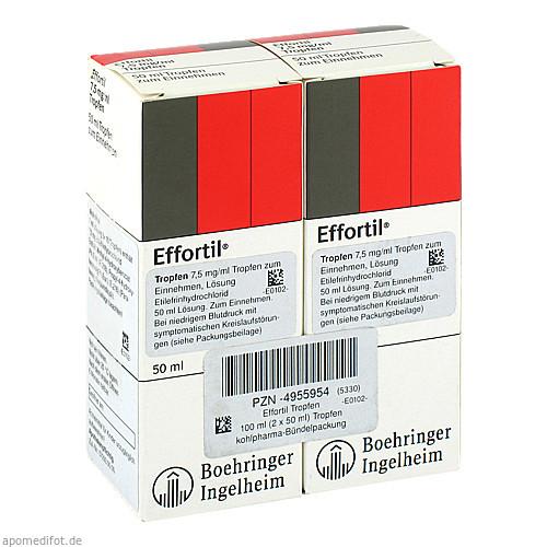 EFFORTIL Tropfen, 100 ML, kohlpharma GmbH