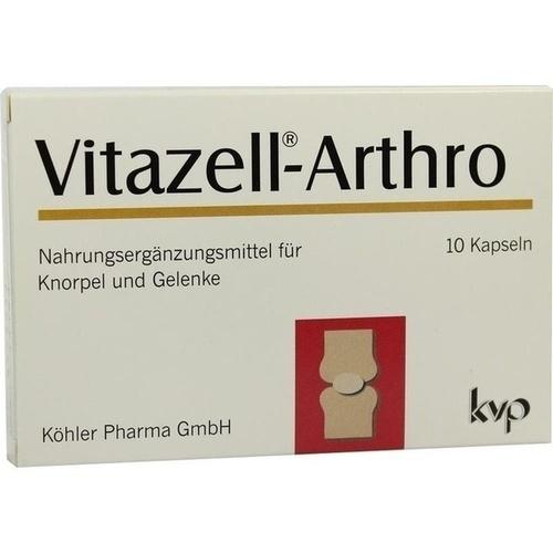 Vitazell Arthro, 10 ST, Köhler Pharma GmbH