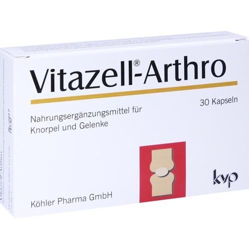 Vitazell Arthro, 30 ST, Köhler Pharma GmbH