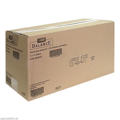 GEHE BALANCE Pants plus prime Gr.L, 4X14 ST, Gehe Pharma Handel GmbH