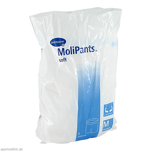 MOLIPANTS soft Fixierhöschen medium, 5 ST, PAUL HARTMANN AG