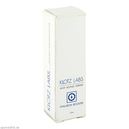 Hyaluron Booster Serum, 10 ML, Klotz Labs Kosmetikmanufaktur GmbH