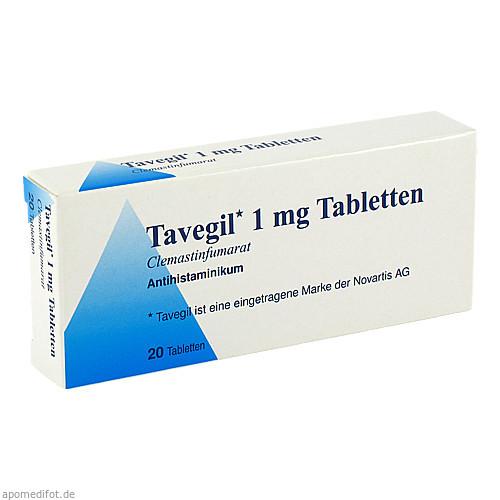 TAVEGIL, 20 ST, kohlpharma GmbH