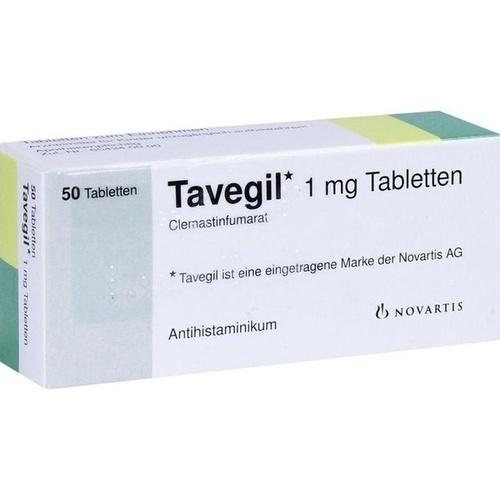 TAVEGIL, 50 ST, kohlpharma GmbH