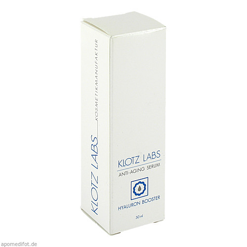Hyaluron Booster Serum, 50 ML, Klotz Labs Kosmetikmanufaktur GmbH