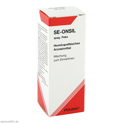 SE-ONSIL spag. Peka, 30 ML, Pekana Naturheilmittel GmbH
