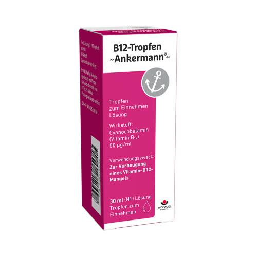 B12 ANKERMANN, 30 ML, Wörwag Pharma GmbH & Co. KG