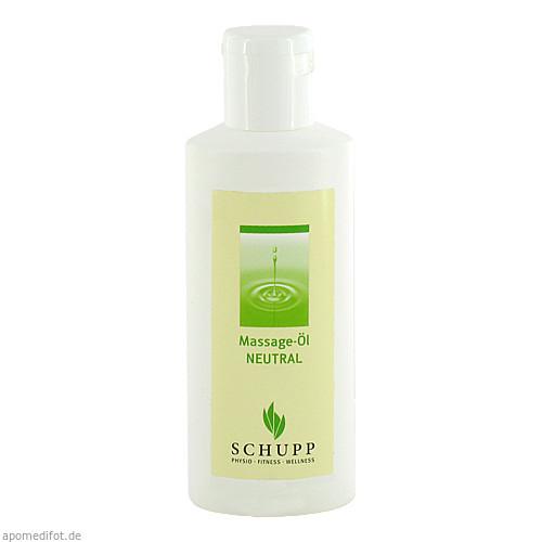 Massageöl neutral, 200 ML, Schupp GmbH & Co. KG