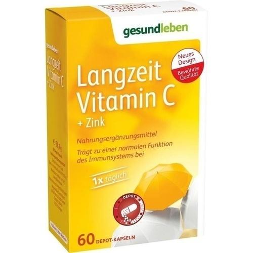 gesund leben Langzeit Vitamin C + Zink, 60 ST, Gehe Pharma Handel GmbH