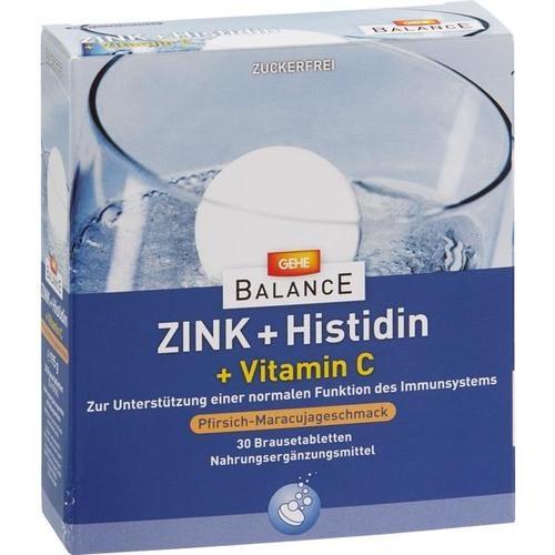 GEHE BALANCE Zink Histidin + Vitamin C Brausetabl., 3X10 ST, Gehe Pharma Handel GmbH