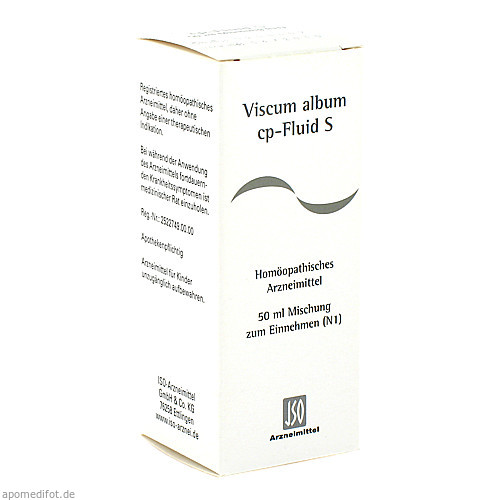 VISCUM ALBUM CP FLUID S, 50 ML, Iso-Arzneimittel GmbH & Co. KG