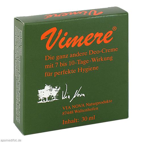 VIMERE DEO CREME, 30 ML, Via Nova Naturprodukte GmbH
