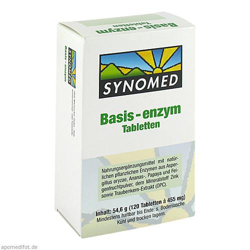Basis-enzym, 120 ST, Synomed GmbH