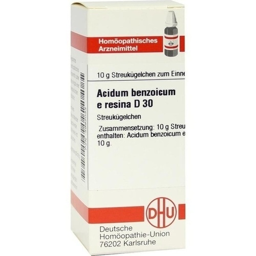 ACIDUM BENZOICUM E RESINA D30, 10 G, Dhu-Arzneimittel GmbH & Co. KG