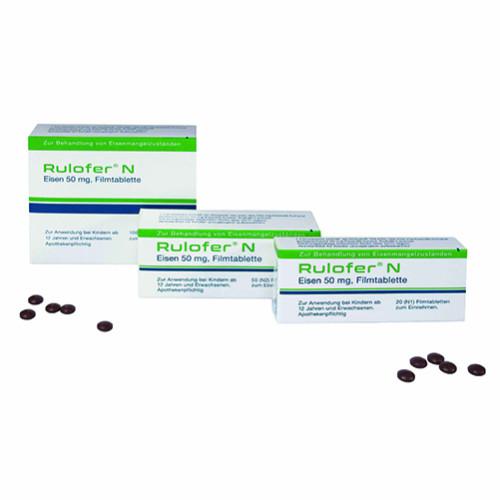 RULOFER N, 20 ST, Lomapharm Rudolf Lohmann GmbH KG