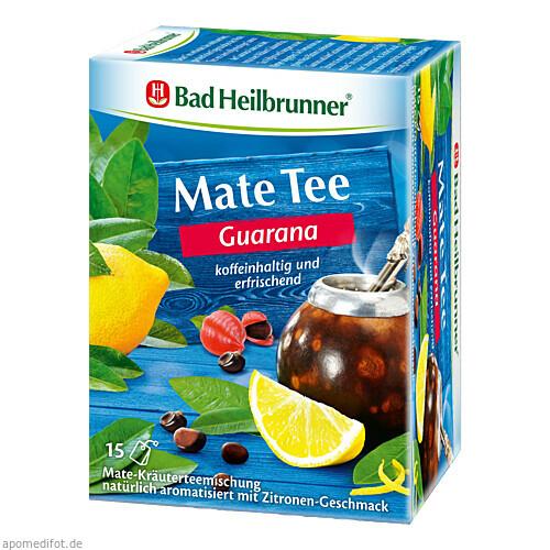 Bad Heilbrunner Guarana Mate Tee Kräuterpower, 15X1.8 G, Bad Heilbrunner Naturheilmittel GmbH & Co. KG