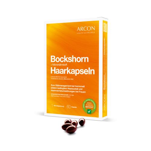 Bockshorn+Mikronährstoff Haarkap.Arcon-Tisane plus, 60 ST, Arcon International GmbH