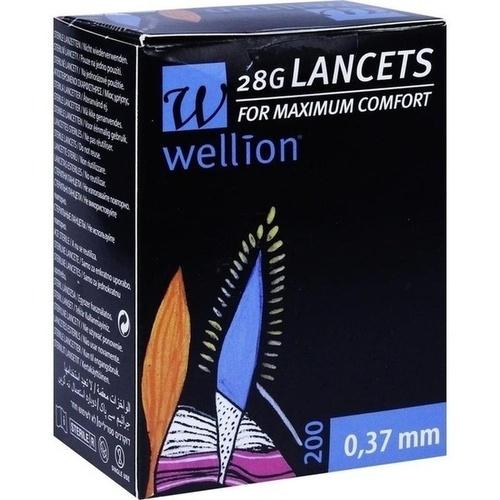 WELLION 28G Lancets, 200 ST, MED TRUST Holding GmbH