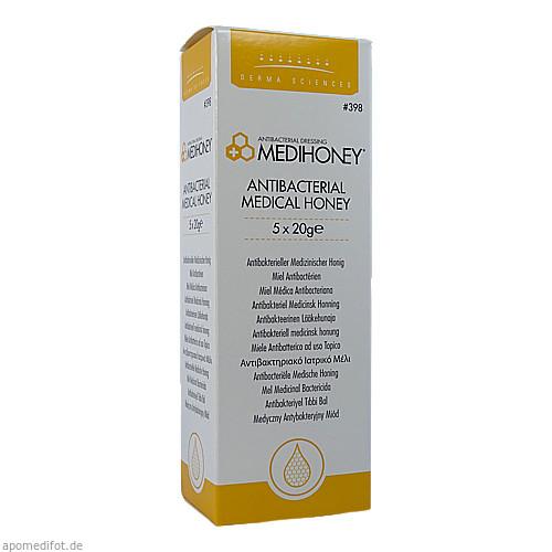 MEDIHONEY Antibakterieller Medizinischer Honig, 5X20 G, Apofit Arzneimittelvertrieb GmbH