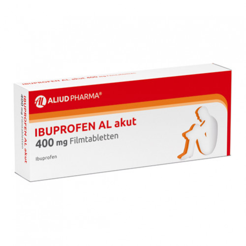 Ibuprofen AL akut 400mg Filmtabletten, 10 ST, Aliud Pharma GmbH