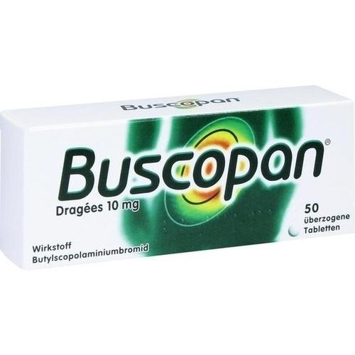 BUSCOPAN Dragees, 50 ST, Axicorp Pharma GmbH