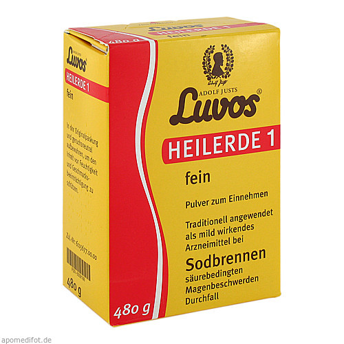 Luvos Heilerde 1 fein, 480 G, Heilerde-Gesellsch.LUVOS JUST GmbH & Co. KG
