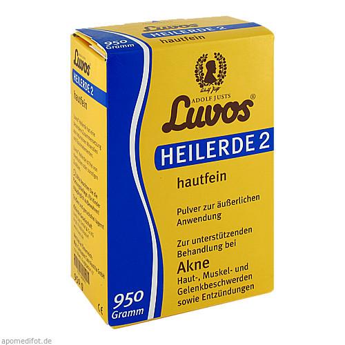 Luvos Heilerde 2 hautfein, 950 G, Heilerde-Gesellschaft Luvos Just GmbH & Co. KG