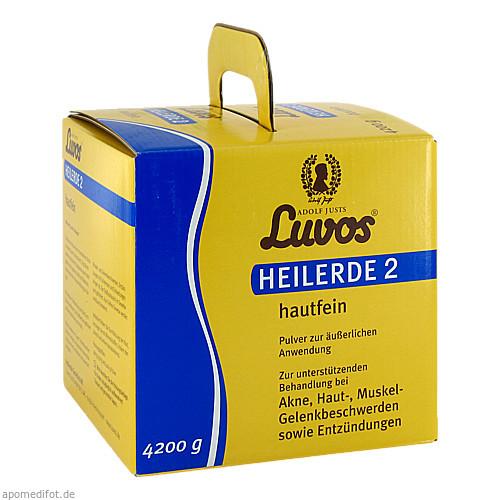 Luvos Heilerde 2 hautfein, 4200 G, Heilerde-Gesellsch.LUVOS JUST GmbH & Co. KG