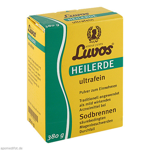 Luvos Heilerde ultrafein, 380 G, Heilerde-Gesellsch.LUVOS JUST GmbH & Co. KG