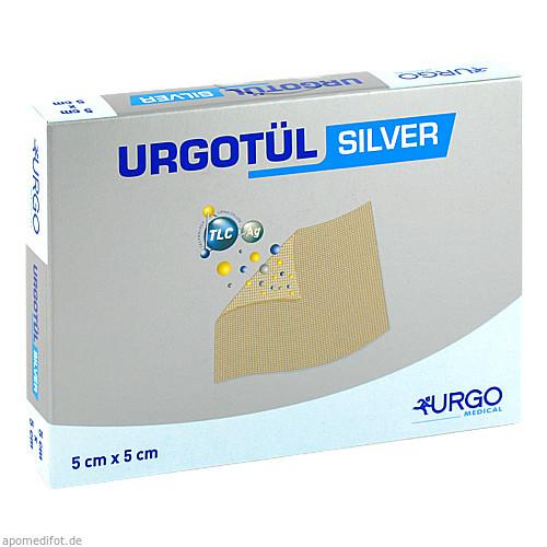 Urgotül Silver 5x5cm, 10 ST, Urgo GmbH